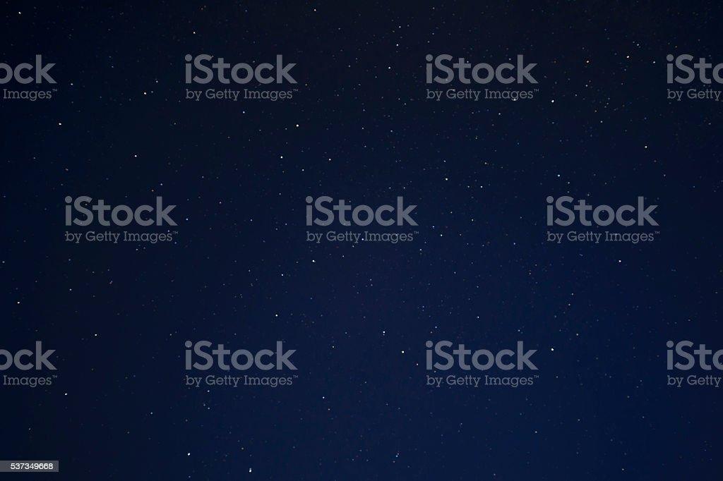 Night Starry background stock photo