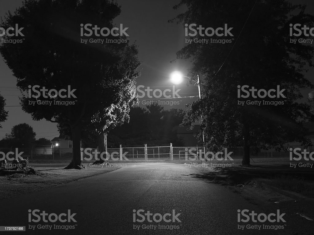 Night Street royalty-free stock photo
