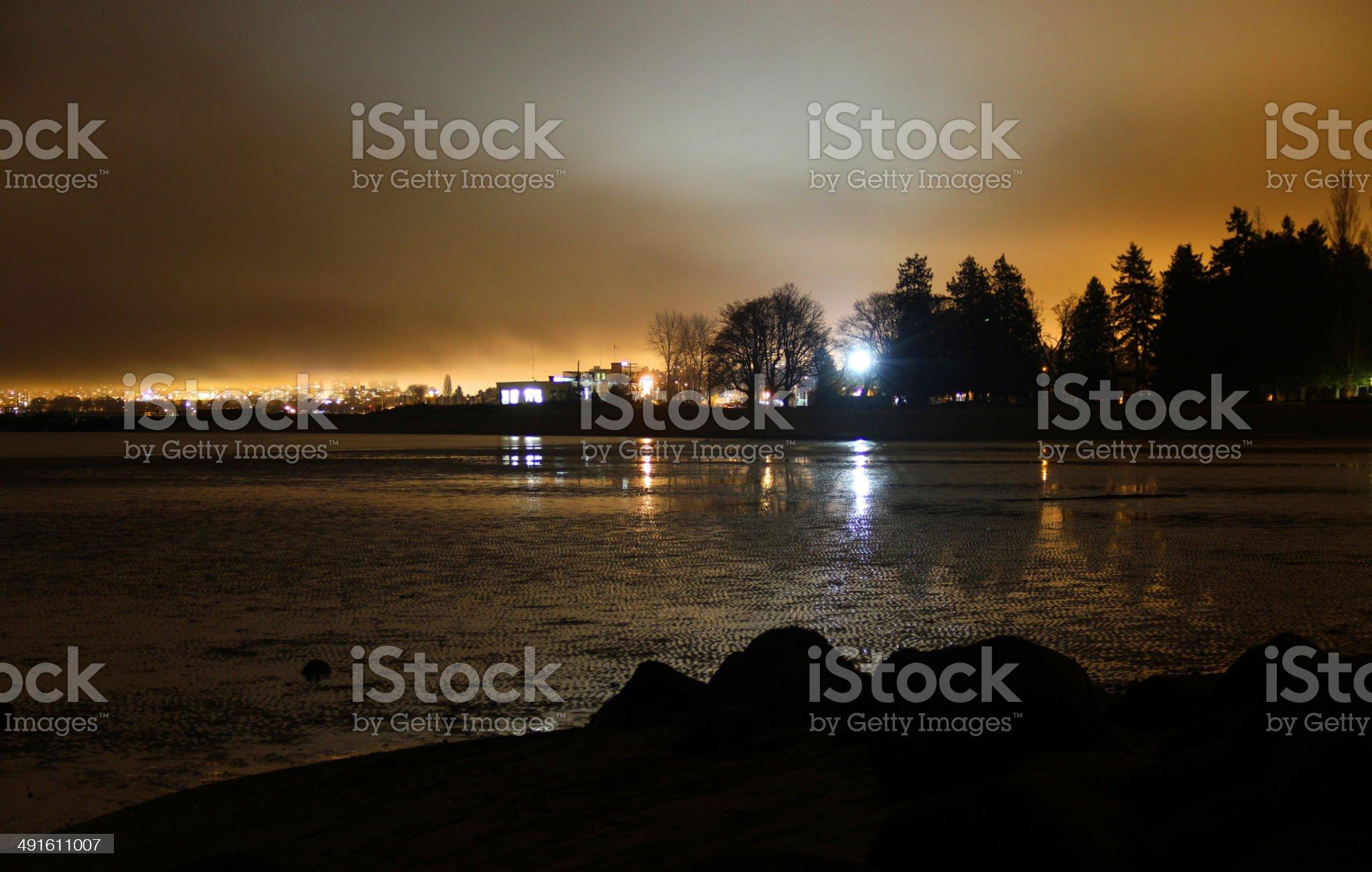 Night Tide royalty-free stock photo