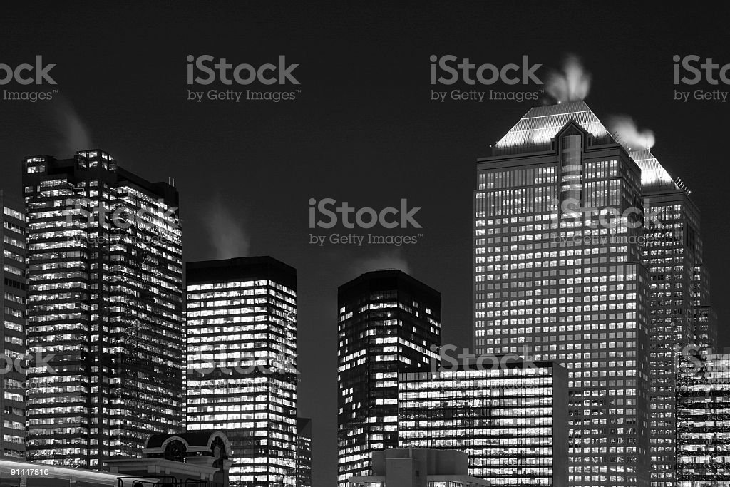 Night time royalty-free stock photo