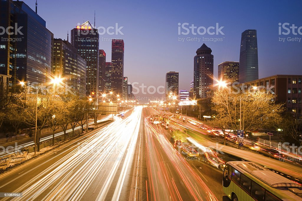 Night view royalty-free stock photo