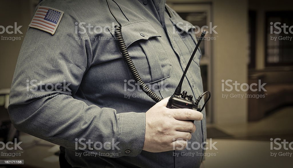 Night Watch Security royalty-free stock photo