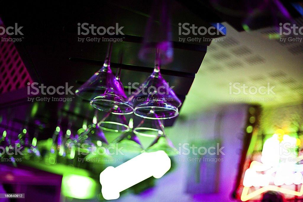 Nightclub Bar stock photo
