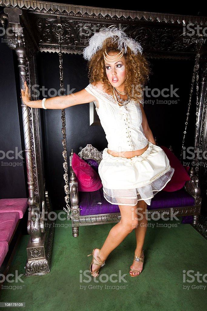 Nightclub Diva stock photo