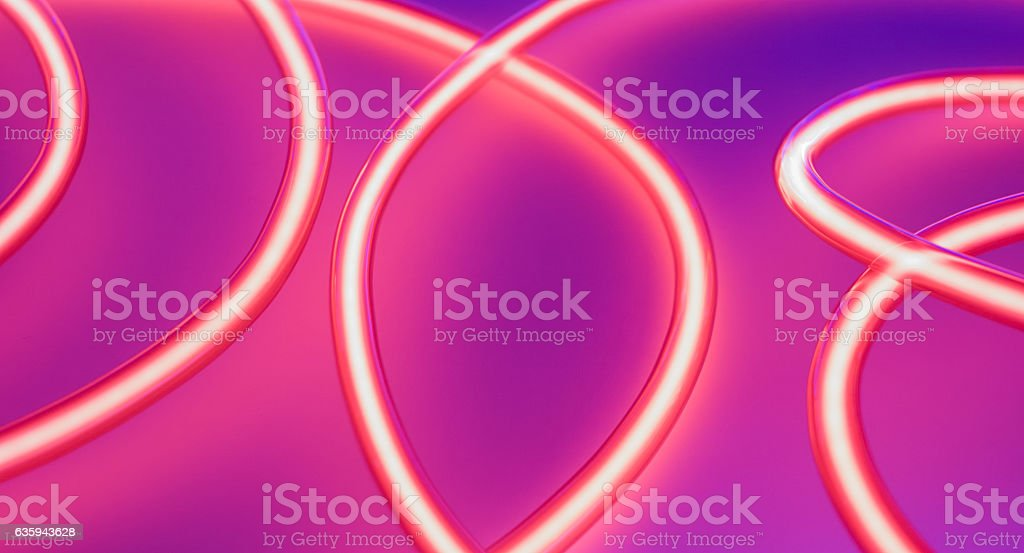 Nightclub neon lights. Vibrant creative energy concept. stock photo