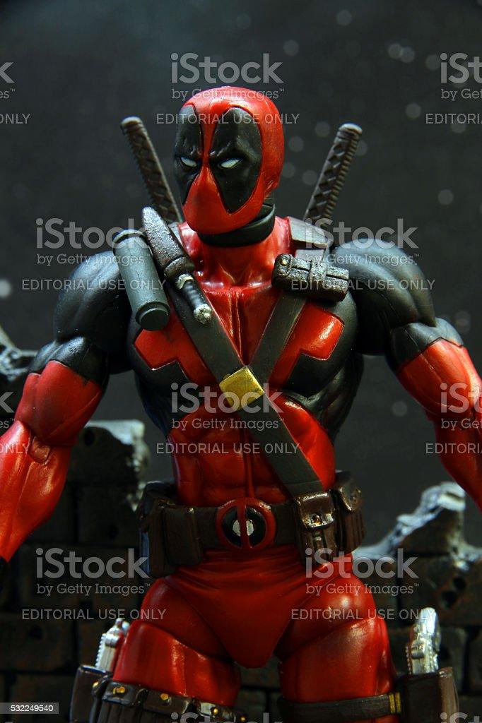 Nightime Mercenary stock photo