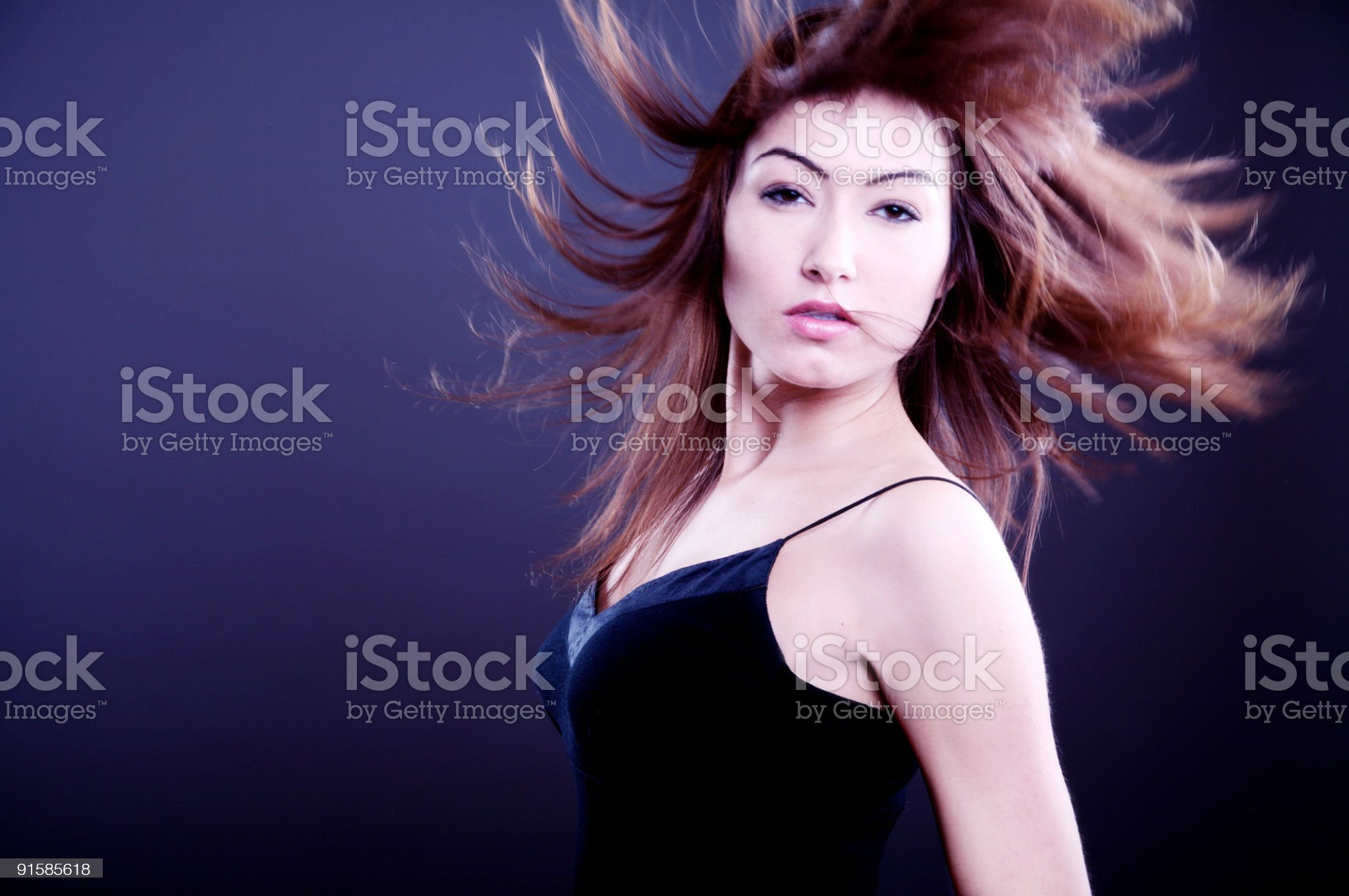 NightLife Girl royalty-free stock photo