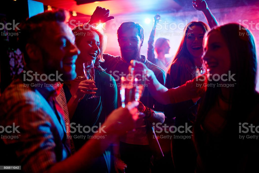 Nightlife stock photo