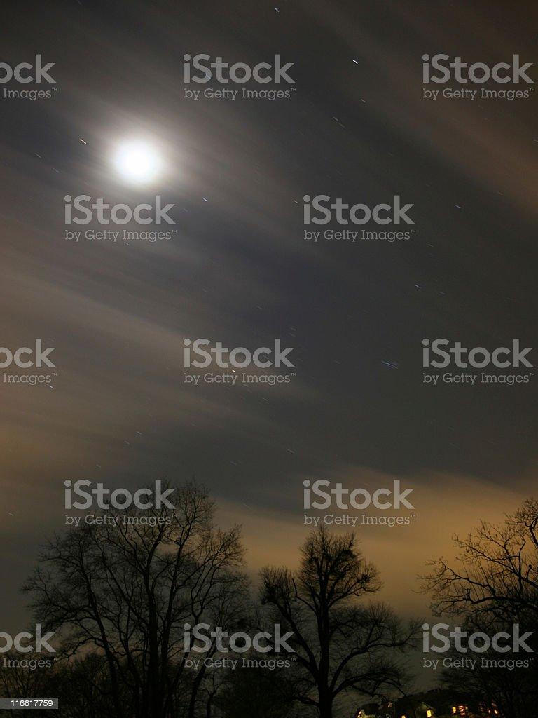 Nightly sky royalty-free stock photo