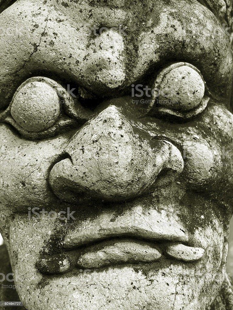 Nightmare demon royalty-free stock photo