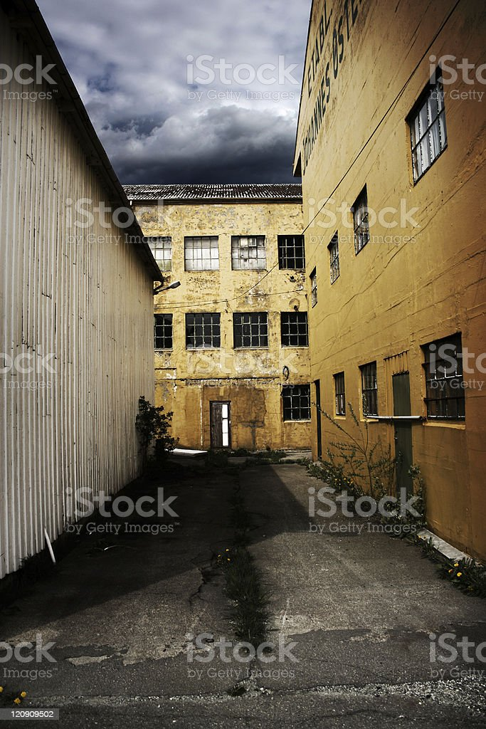 Nightmare Institution royalty-free stock photo