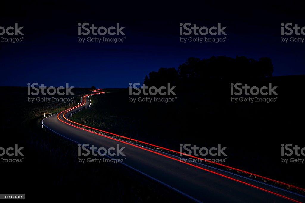 Nightride stock photo