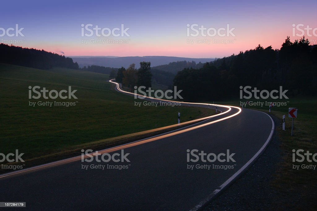 Nightride royalty-free stock photo