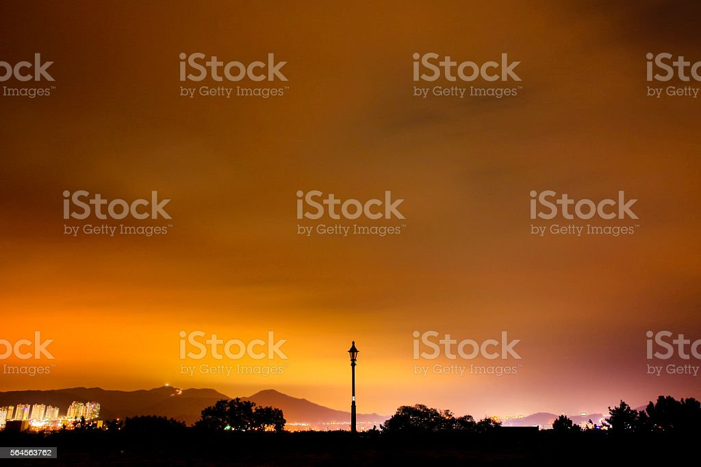 nightscape royalty-free stock photo