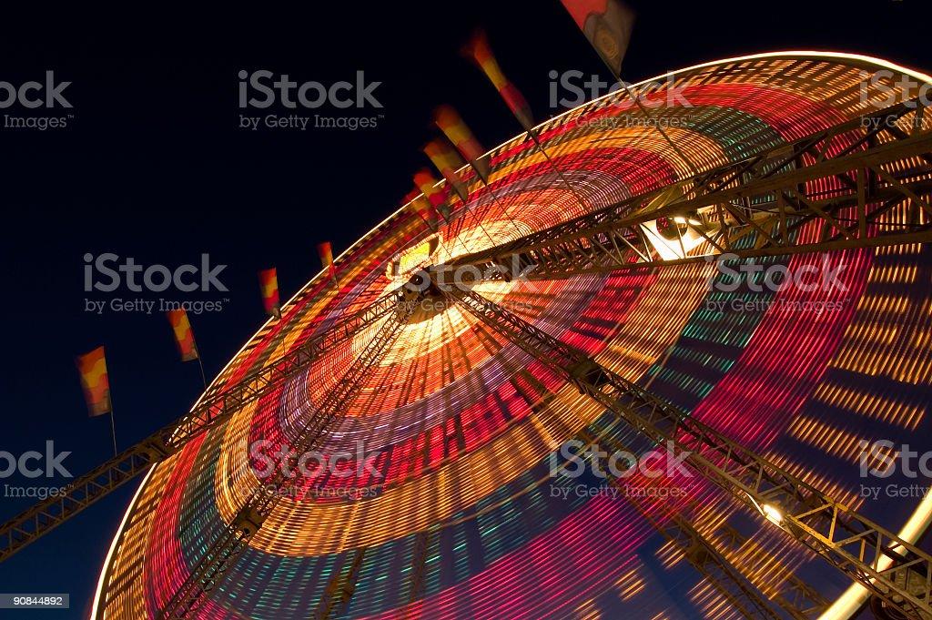 Nighttime Ferris Wheel royalty-free stock photo