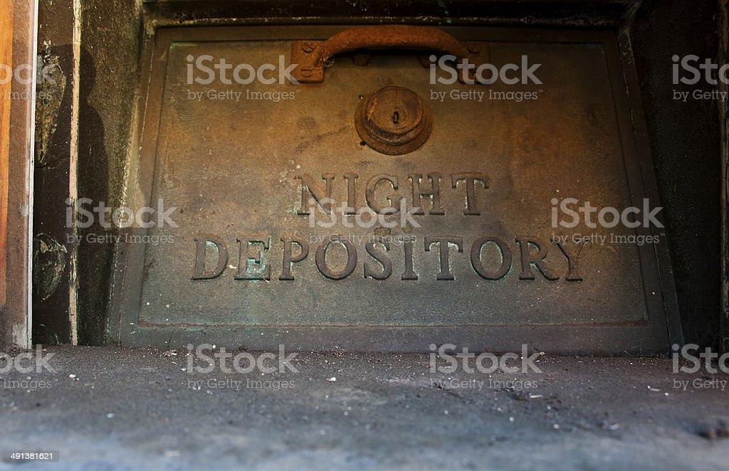 nigt depository 2 stock photo