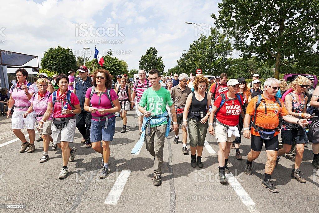 Nijmegen Four Days Marches # 3 XXXL stock photo