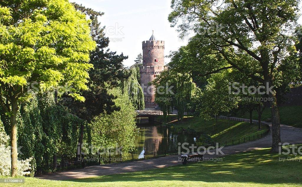 Nijmegen Park stock photo