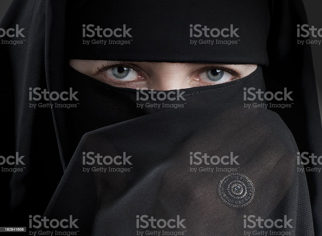 Nikab royalty-free stock photo