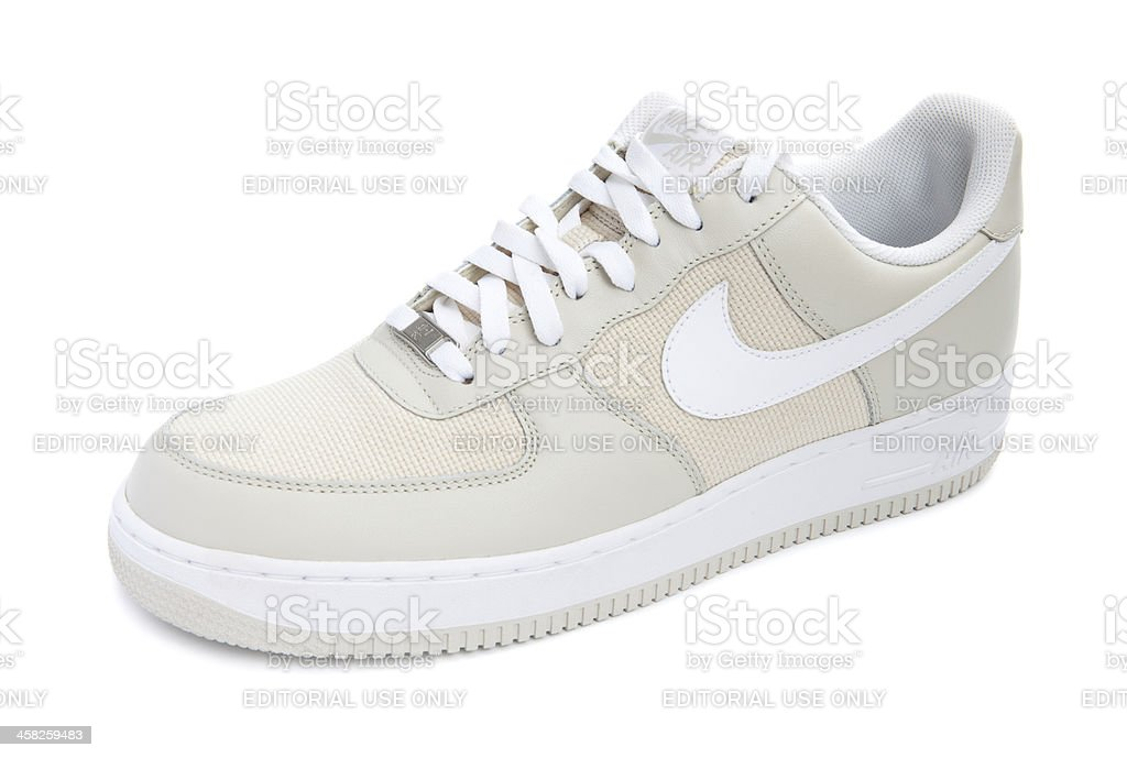 Nike Air Force 1 Shoe royalty-free stock photo