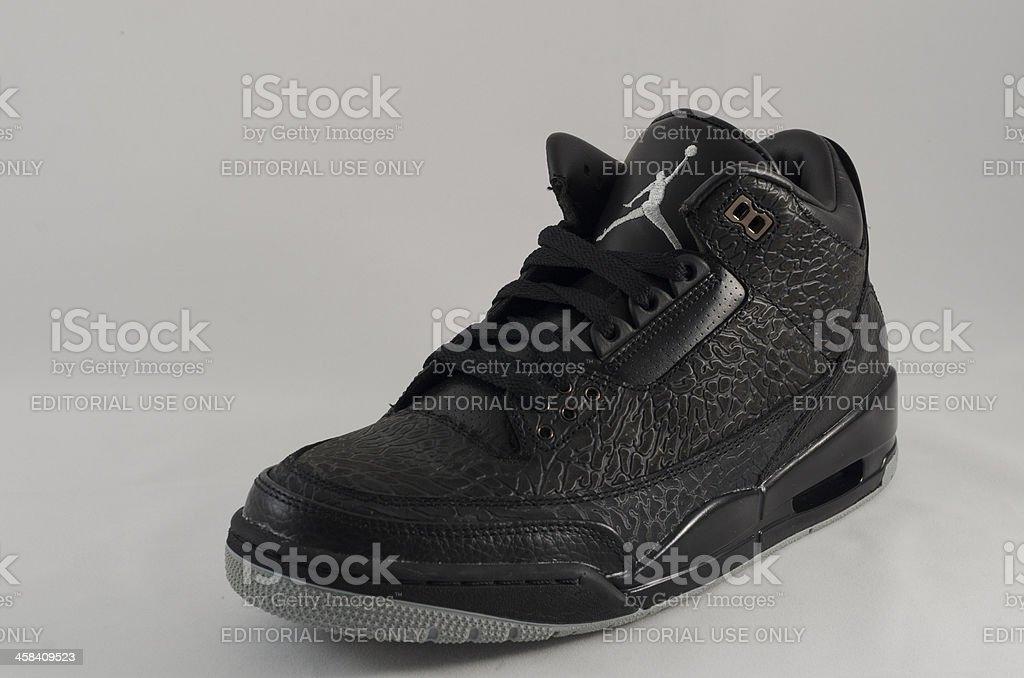 Nike Air Jordan III royalty-free stock photo