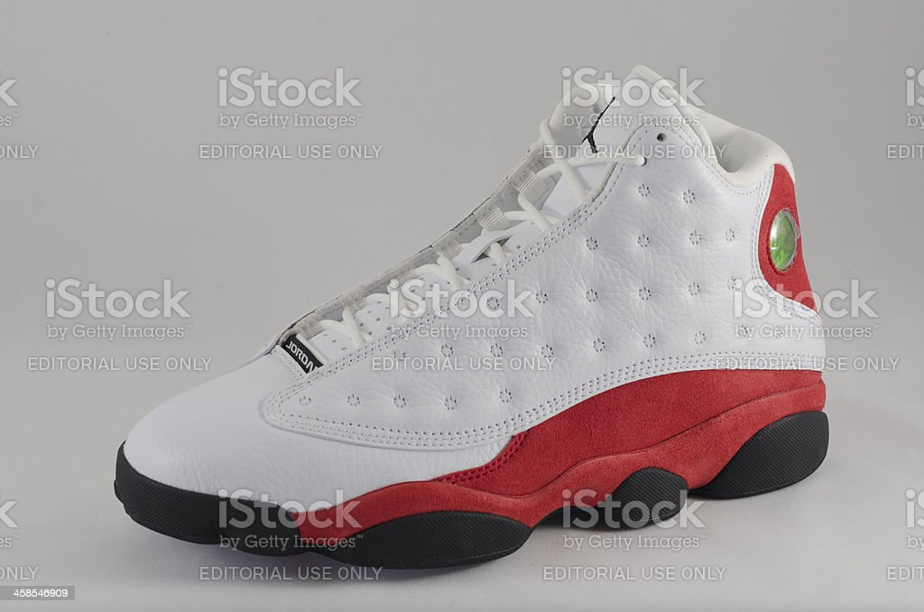 Nike Air Jordan XIII royalty-free stock photo