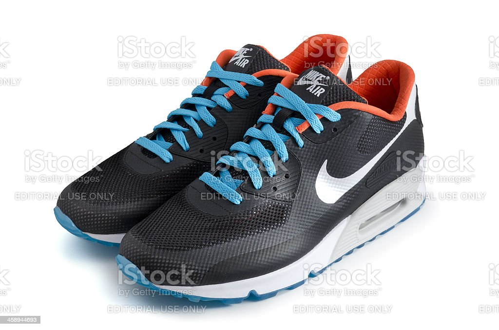 Nike Air Max 90 Hyperfuse trainers royalty-free stock photo