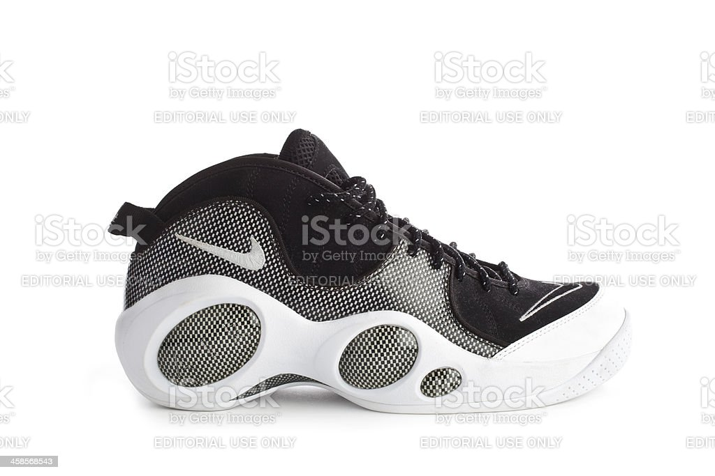 Nike Air Zoom 1995 isolated on white royalty-free stock photo