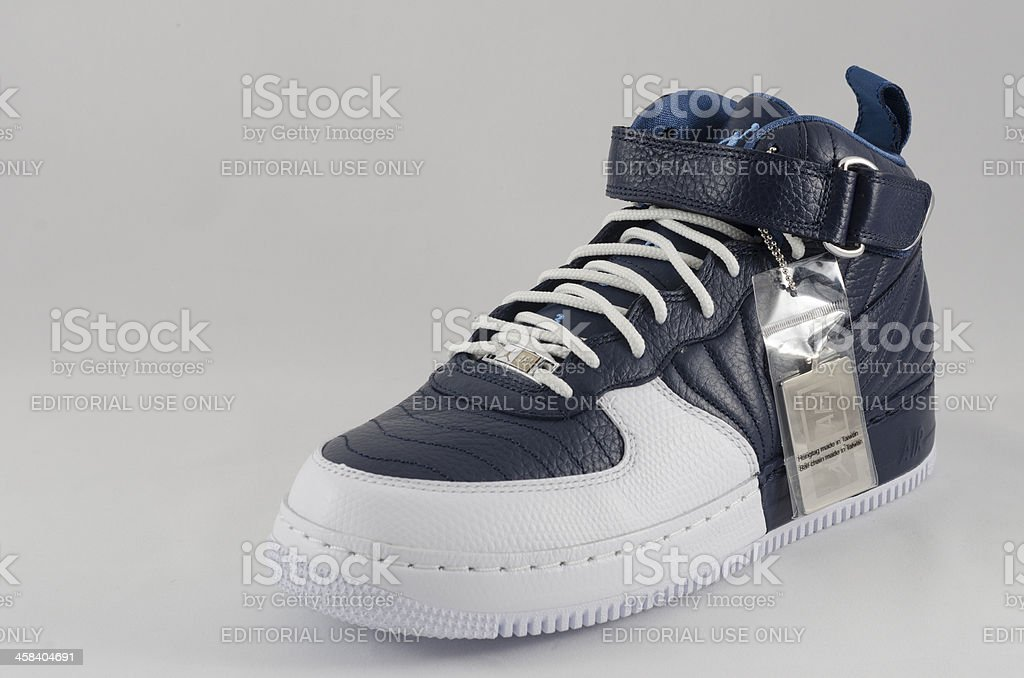 Nike AJF 10 Sneaker royalty-free stock photo