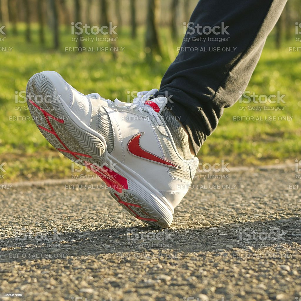 Nike Running Shoe royalty-free stock photo