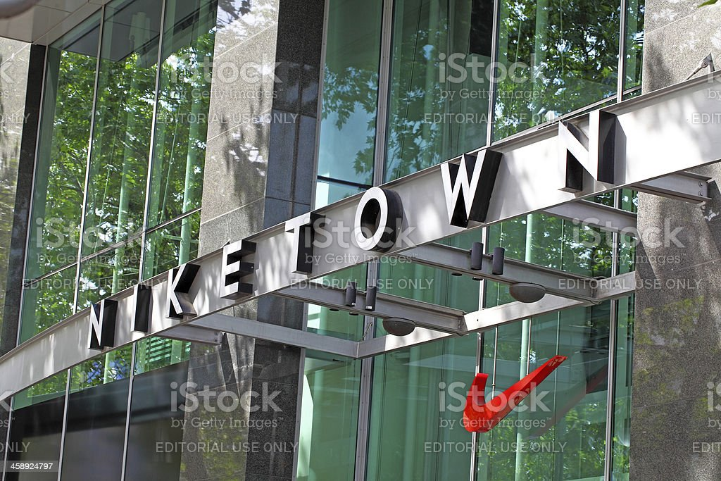 Niketown department store,Berlin,Germany royalty-free stock photo