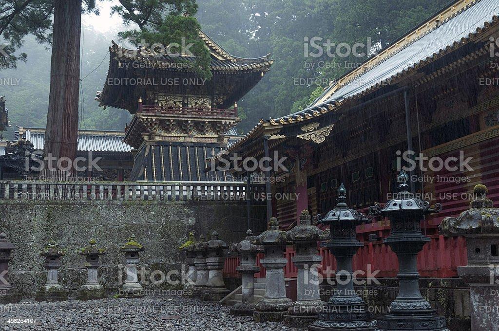 Nikko, Toshogu Shrine royalty-free stock photo
