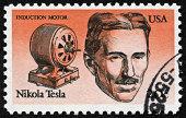 Nikola Tesla Stamp