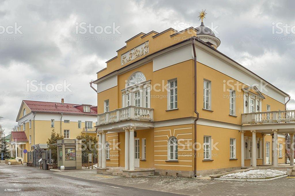 Nikolay Durasov serf theater school building stock photo