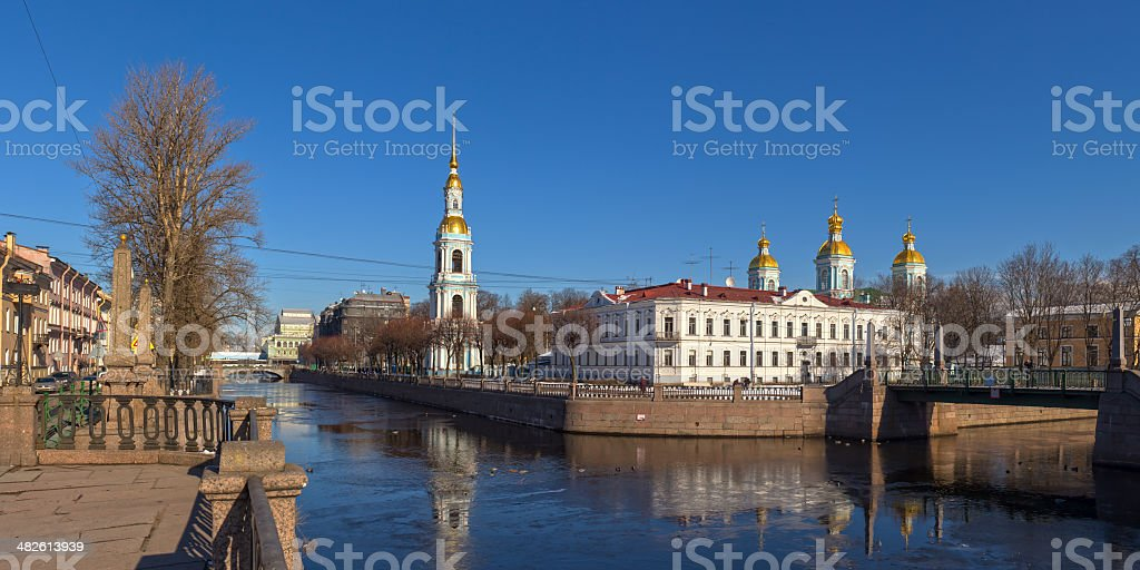 Nikolsky Cathedral royalty-free stock photo