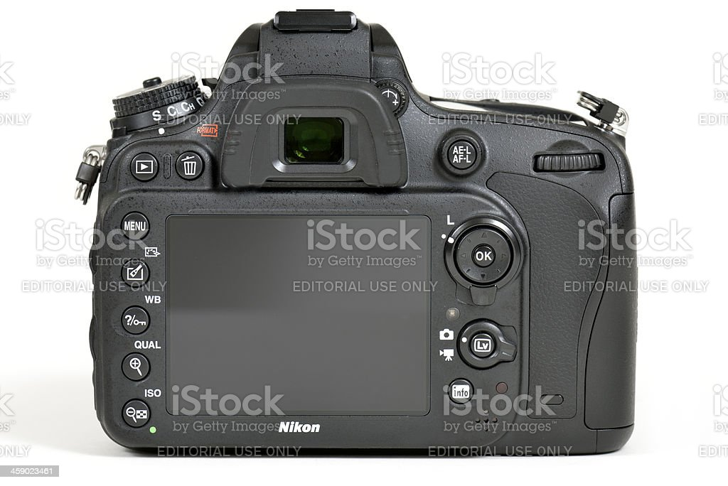 Nikon D600 DSLR Camera royalty-free stock photo
