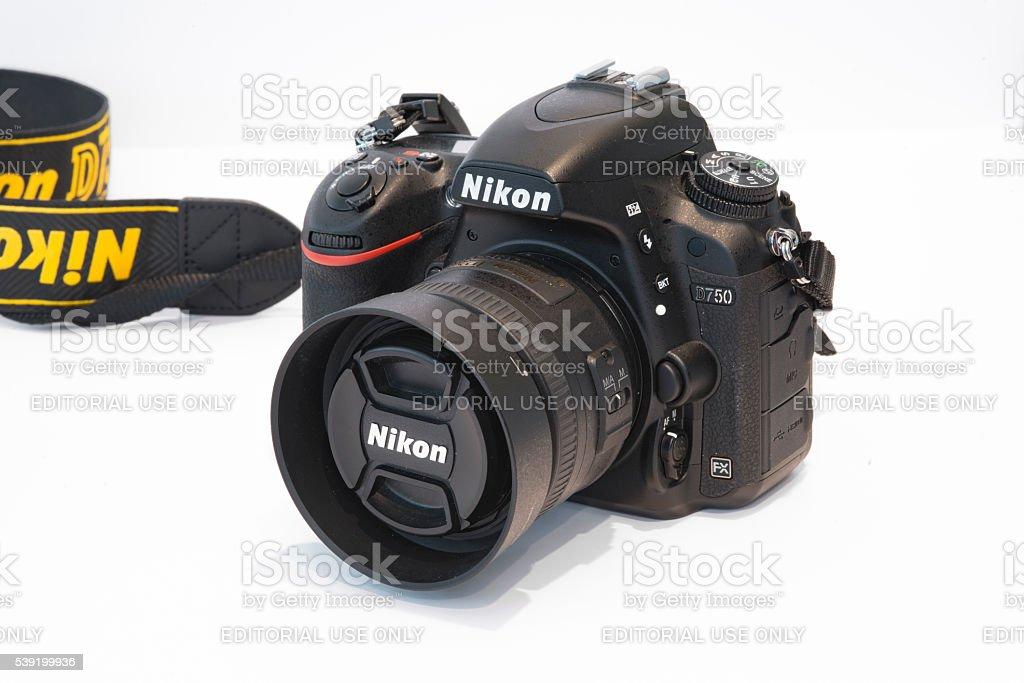 Nikon D750 with Nikon 35mm f1.8 stock photo