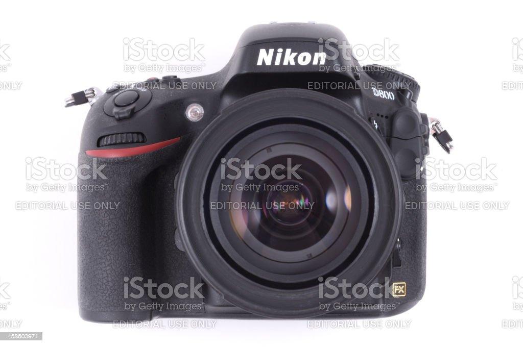 Nikon D800 with AF-S Nikkor 24-120mm f/3.5-5.6G ED VR lens stock photo