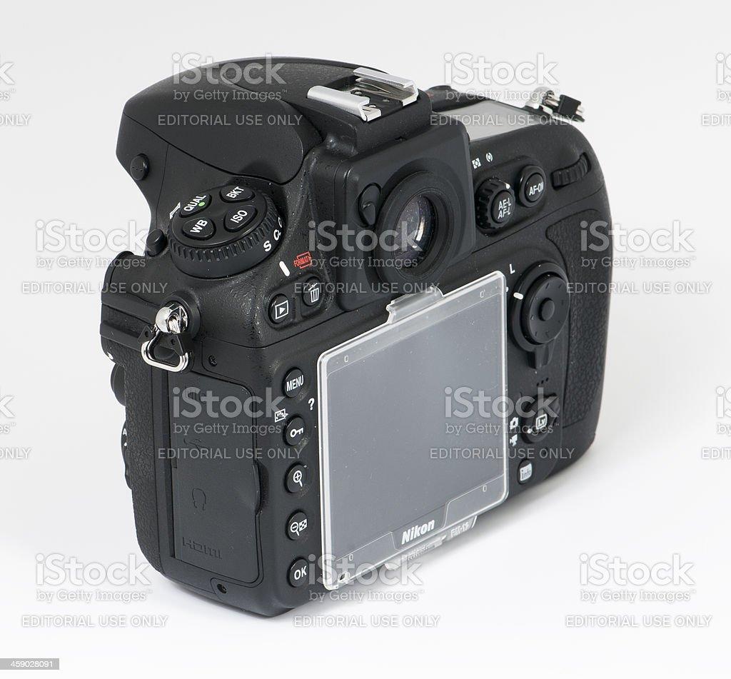 nikon d800e body stock photo