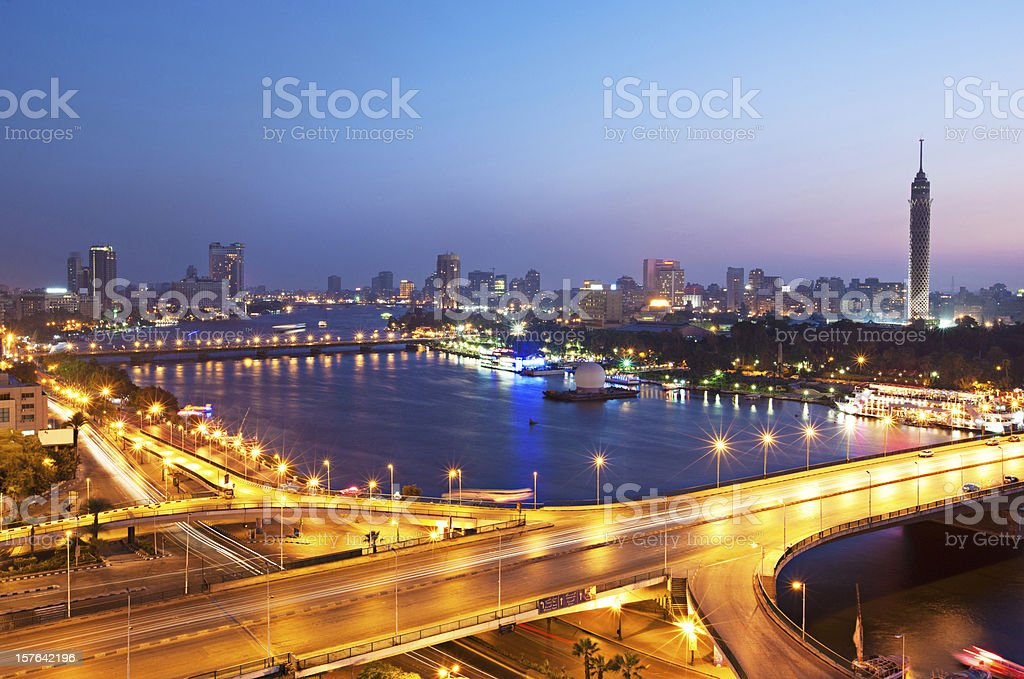 Nile River royalty-free stock photo