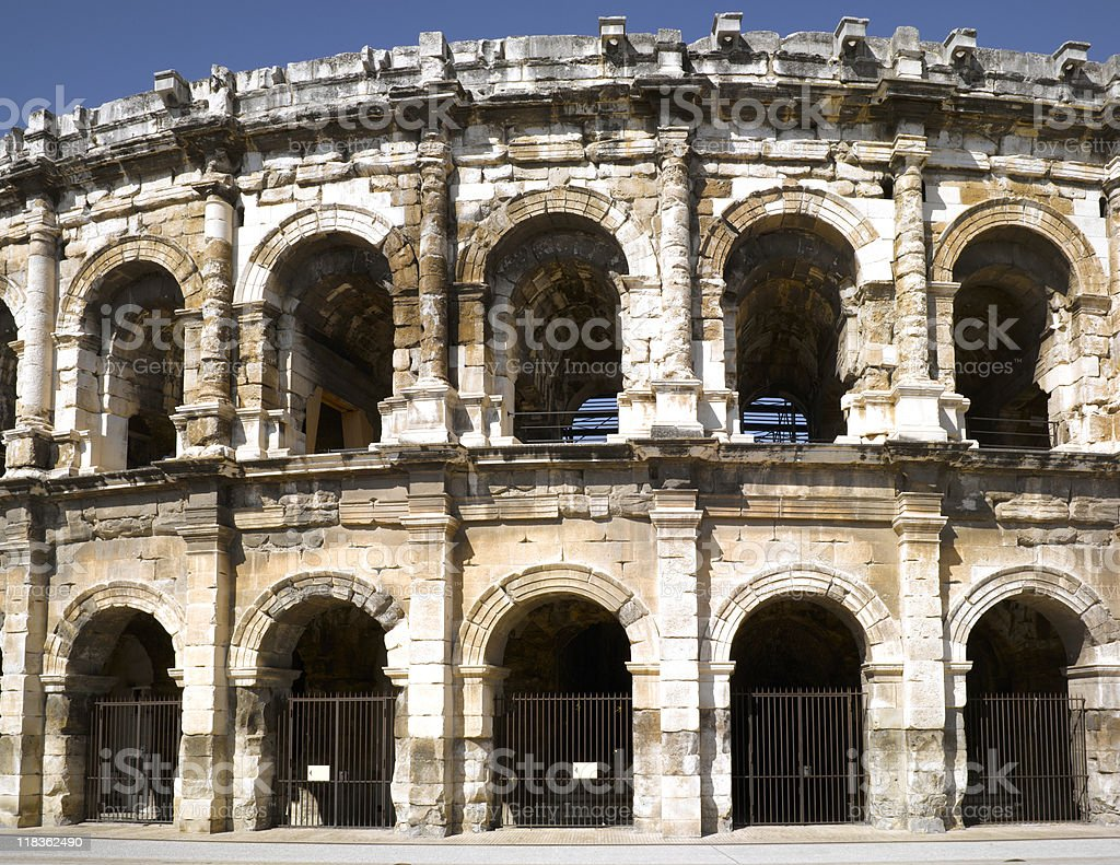 Nimes royalty-free stock photo