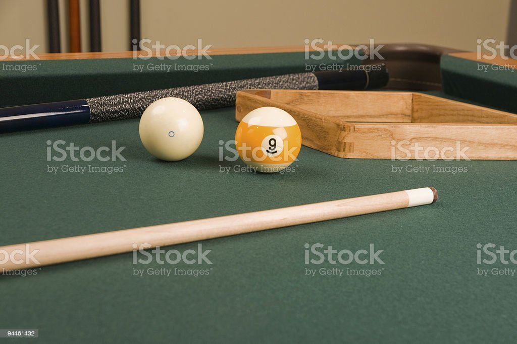 Nine Ball stock photo