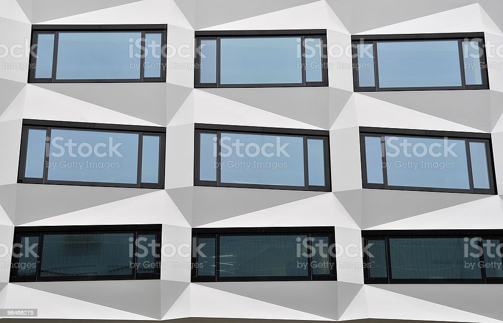 Nine Windows in Switzerland royalty-free stock photo