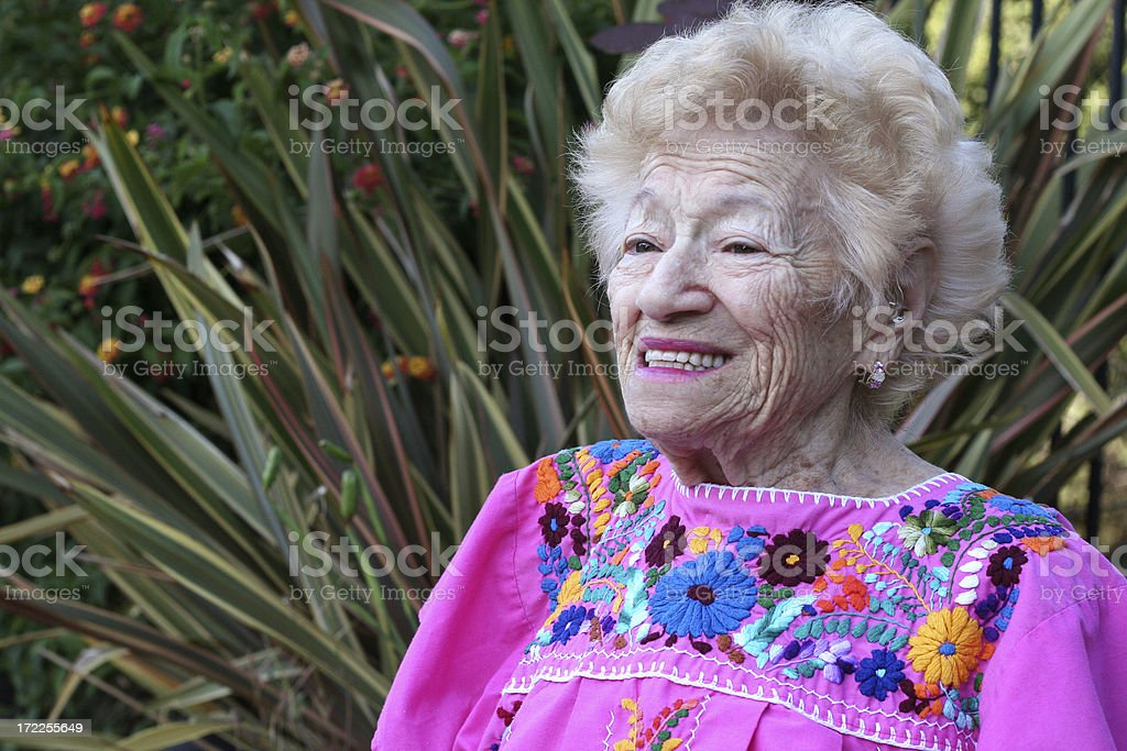 ninety two years going on 62 royalty-free stock photo