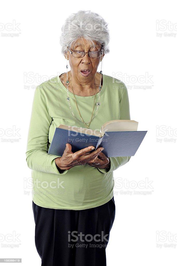 Ninety Years and Still Singing Praise stock photo
