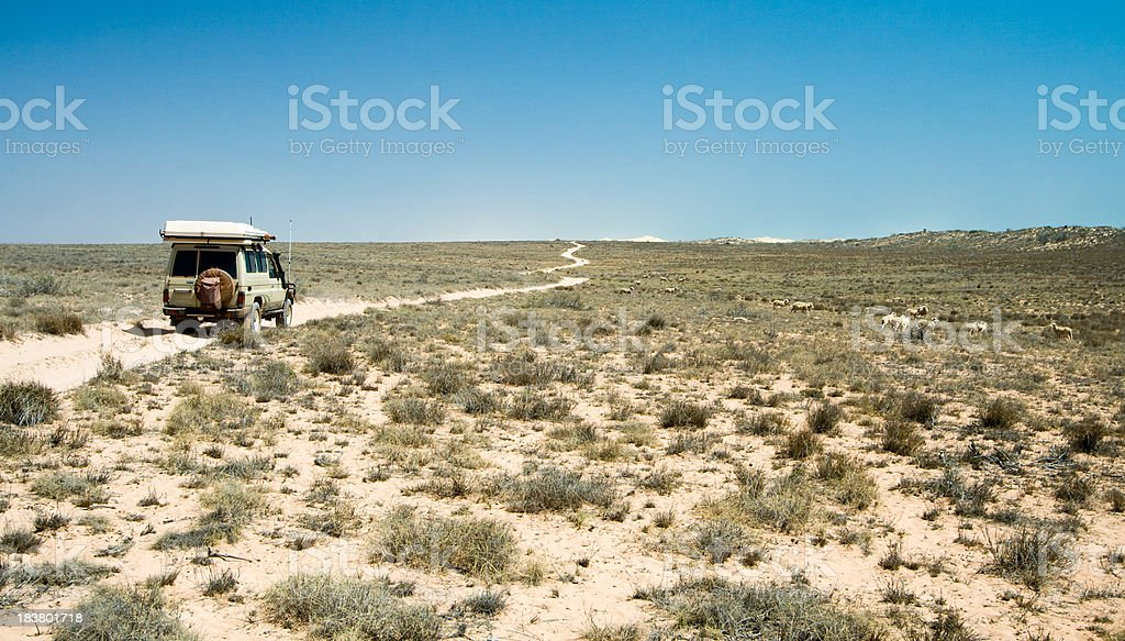 Ningaloo Station stock photo