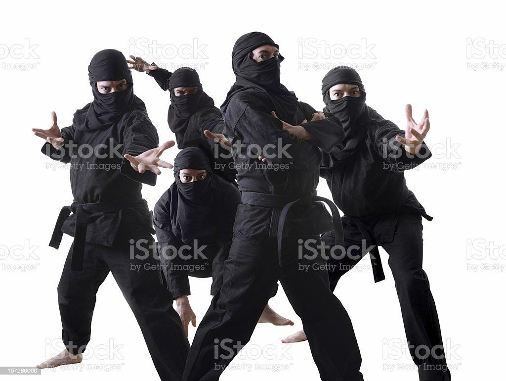 Ninjas stock photo