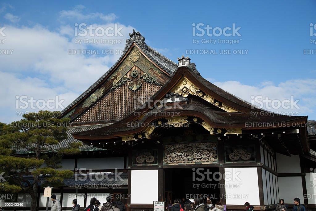 Ninomaru Palace at Nijō Castle, Kyoto, Japan stock photo