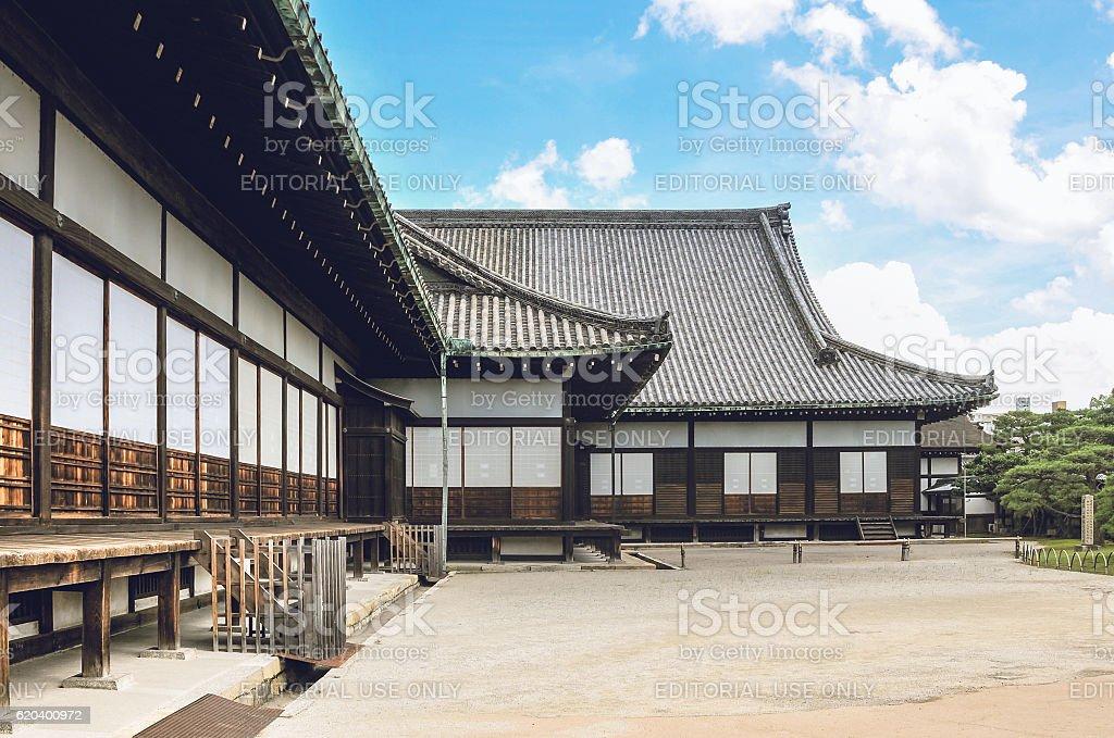 Ninomaru Palace of the Nijo Castle stock photo