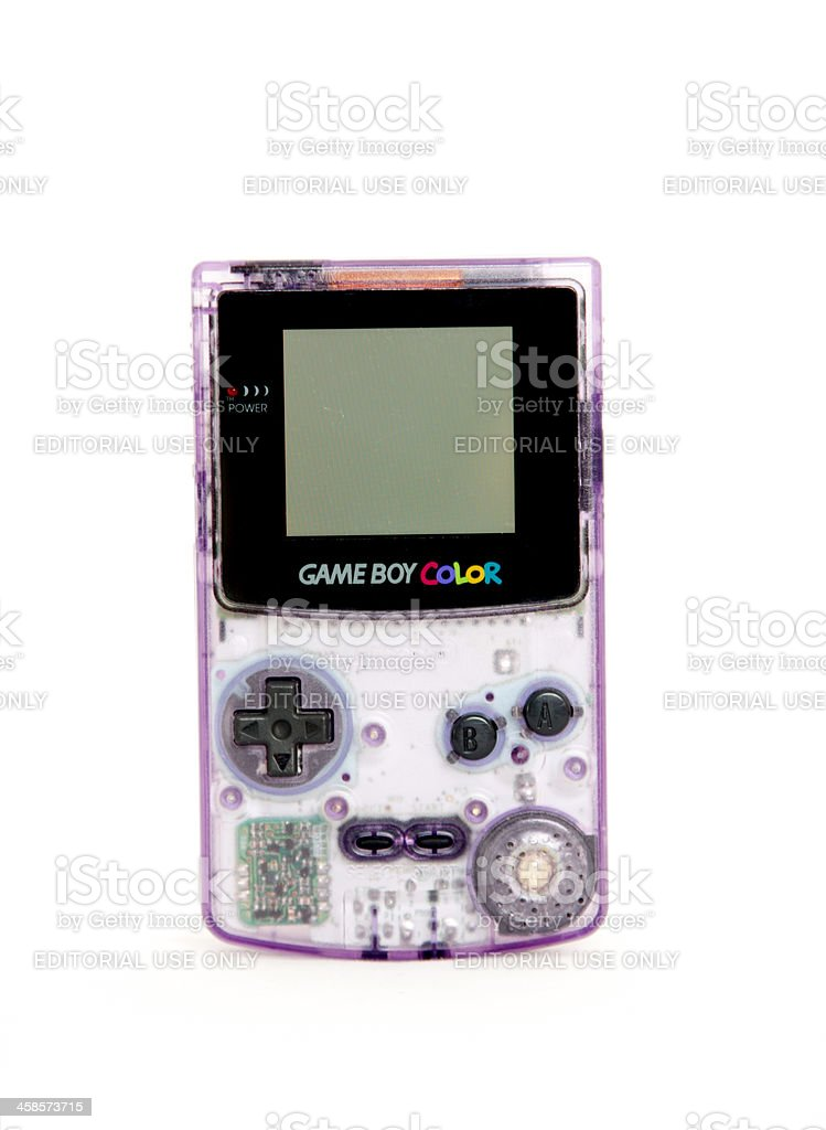 Nintendo Game Boy Color stock photo